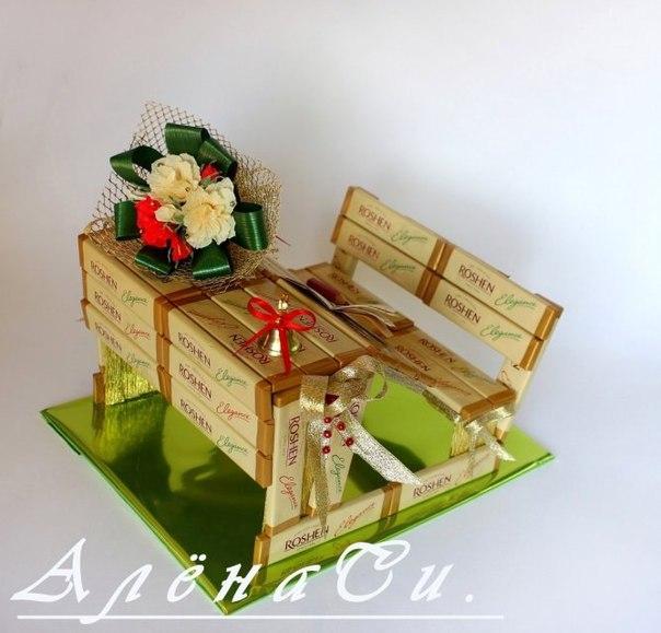 Подарки для учителей своими руками из конфет 691