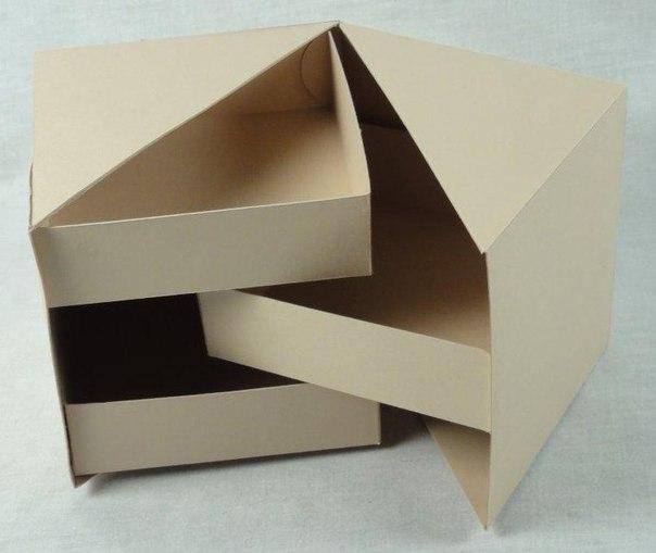 Как сделать необычную коробку