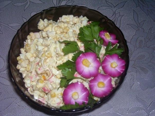 Идеи для украшения салатов фото