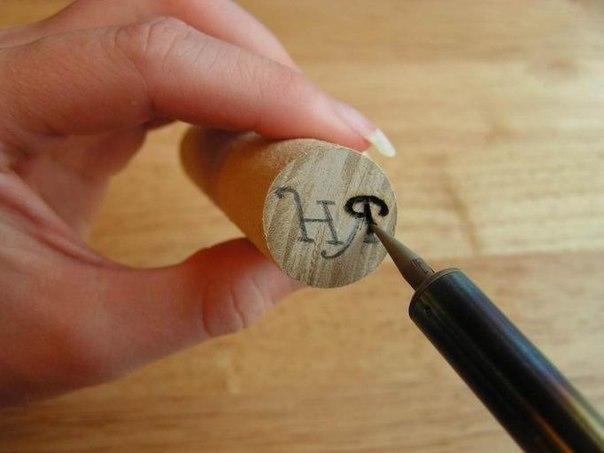 Как делать печати своими руками