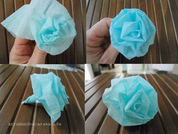 Как сделать шар из салфеток