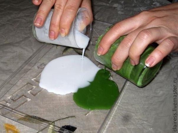 Что можно сделать из мыла своими руками видео