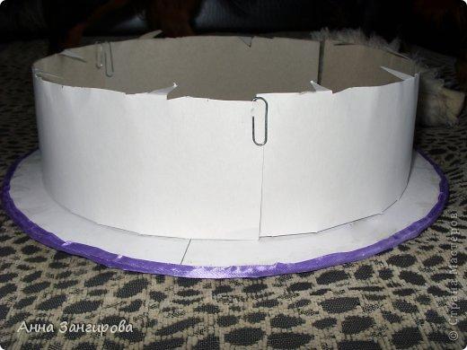 Торт из картона своими руками пошагово