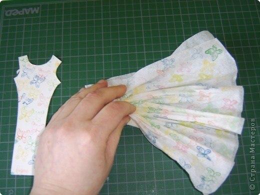 Как сделать платье своими руками из салфеток