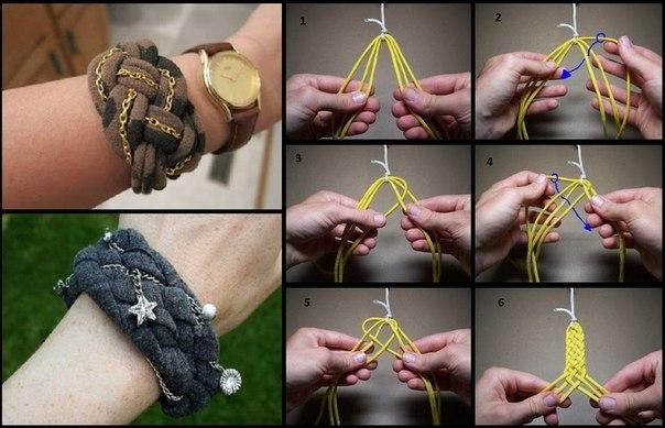 Как сделать интересный браслет