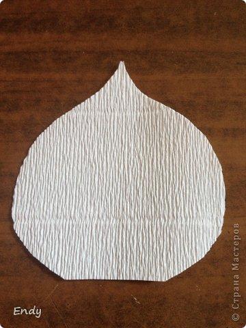 Калла из бумаги видео